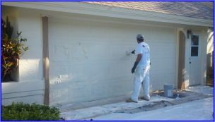 painting garage door