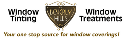 beverly hills window treatment